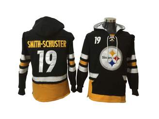 483de8e24 Fan Apparel Smith-Schuster 19 Steelers Football Hoodie Men Onesie  Sweatshirt Champion Tank top Sweaters