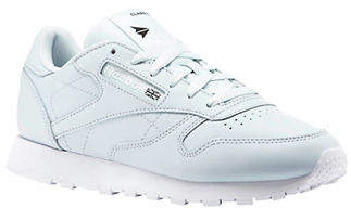 Reebok Womens Classic Running Leather Sneakers