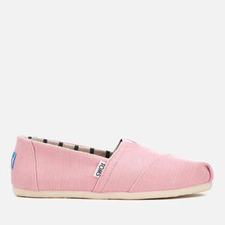 Womens Regular Alpargata Slip-on Shoes - 4.5 - Yellow Lands End WCwK4hV3IY
