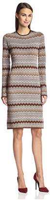 Society New York Women's Wave Jacquard Dress