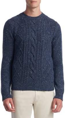 Saks Fifth Avenue Fisherman Trapp Sweater