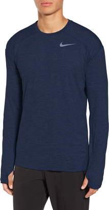 Nike Element Dry Long Sleeve Running T-Shirt