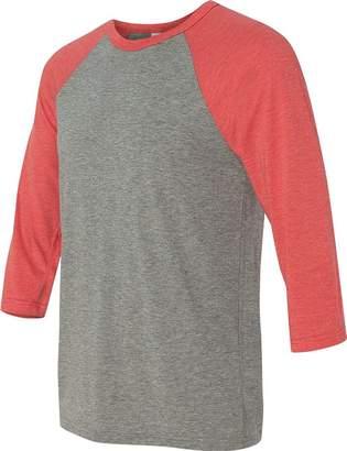 B.ella + Canvas Unisex 3/4-Sleeve Baseball T-Shirt