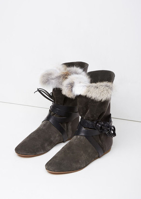 Isabel Marant Nia Flat Boot $810 thestylecure.com