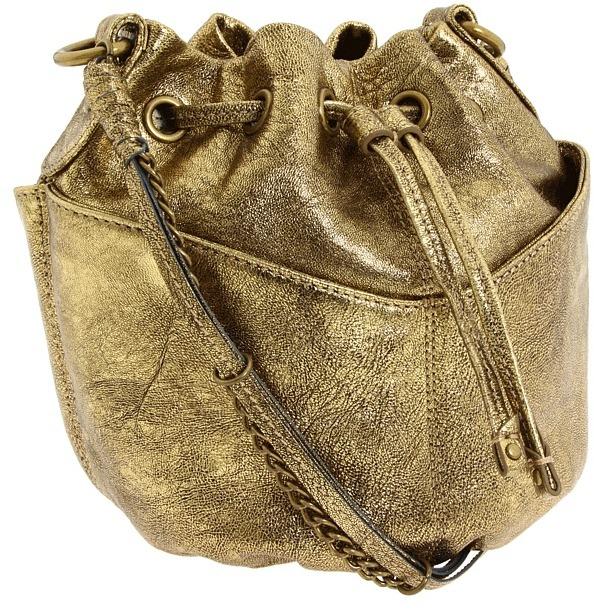 Olivia Harris by Joy Gryson  Metallic Baby Ball Crossbody Bag