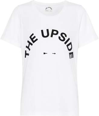 The Upside Tee cotton T-shirt