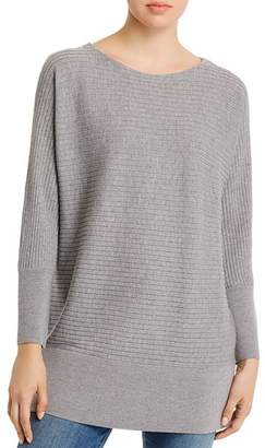 Eileen Fisher Wool Boatneck Tunic Sweater