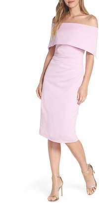 Vince Camuto Popover Midi Dress
