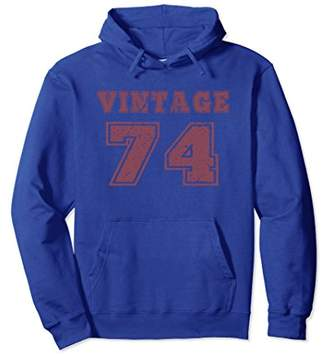 1974 Vintage Birthday Gift Hoodie For Men Women
