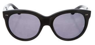 Oliver Goldsmith Round Tinted Sunglasses Black Round Tinted Sunglasses