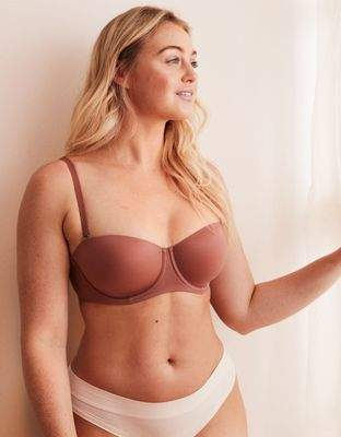 aerie Sunnie Strapless Lightly Lined Bra