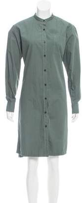Dries Van Noten Knee-Length Button-Up Dress