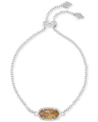 Kendra Scott Elaina Adjustable Chain Bracelet in Silver
