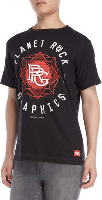 Planet Rock Graphics Logo Graphic Tee