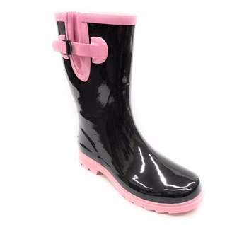 Forever Young Women's Two Tone Rain Boot