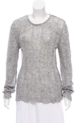 Dolce & Gabbana Linen Crew Neck Sweater