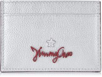 Jimmy Choo Metallic Aries Card Holder