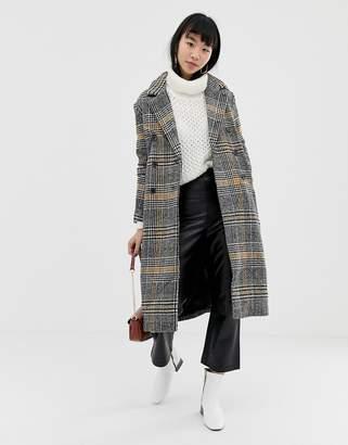 Ichi Check Coat