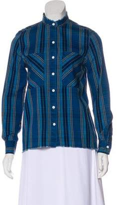 Joe's Jeans Long Sleeve Button-Up Blouse w/ Tags