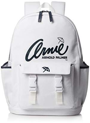 Arnold Palmer (アーノルド パーマー) - [アーノルドパーマー] リュック アーノルドパーマー レディース メンズ ユニセックス スウェットリュック おしゃれ かわいい 大容量 通学 通勤 AP-MBBKW03 WHITE ホワイト