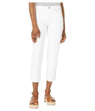 NYDJ Petite Petite Sheri Slim Ankle in Optic White