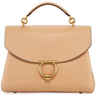 94bf2f8e316c Salvatore Ferragamo Brown Top Handle Handbags - ShopStyle