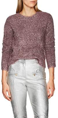 Sies Marjan Women's Courtney Metallic Crewneck Sweater