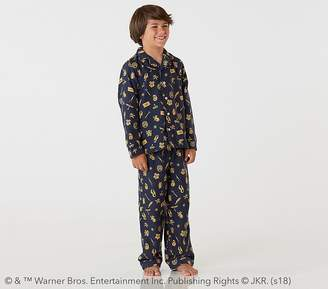 Pottery Barn Kids HARRY POTTERTM; Motif Flannel Pajama, 2T
