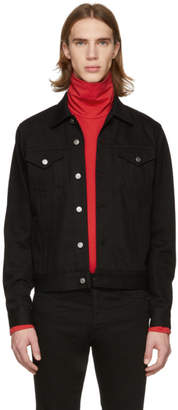 Givenchy Black Denim 4G Webbing Jacket