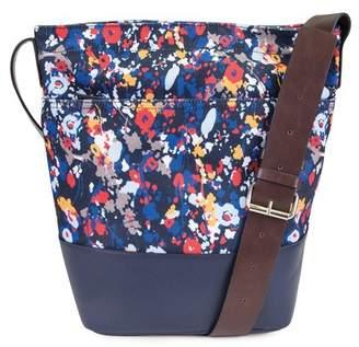 Nautica Floral Print Bucket Bag