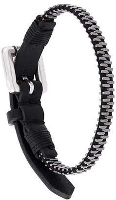Diesel 'Zipper' bracelet