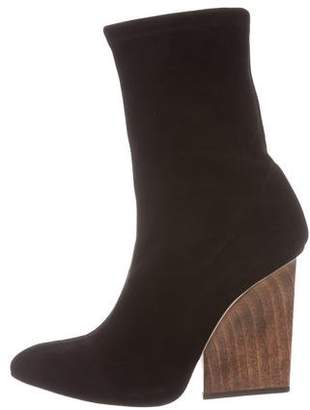 Maiyet Suede Pointed-Toe Ankle Boots
