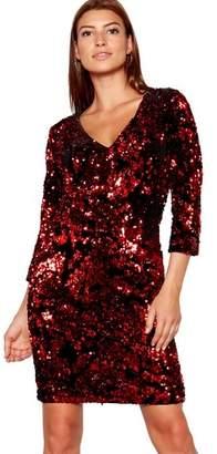 Next Womens Star By Julien Macdonald All Over Sequin Dress