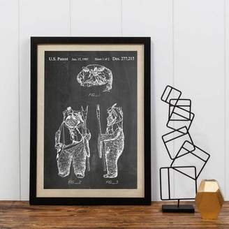 Star Wars I Heart Travel Art. Ewok Print