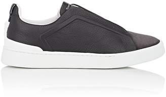 Ermenegildo Zegna Men's Triple Stitch Leather & Suede Sneakers