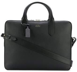 Smythson messenger bag