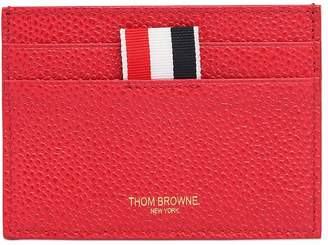 Thom Browne Pebble Grained Leather Card Holder