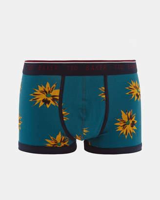 Ted Baker SEATON Flower print cotton boxer shorts