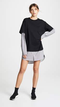 Alexander Wang Gingham Shirting Dress