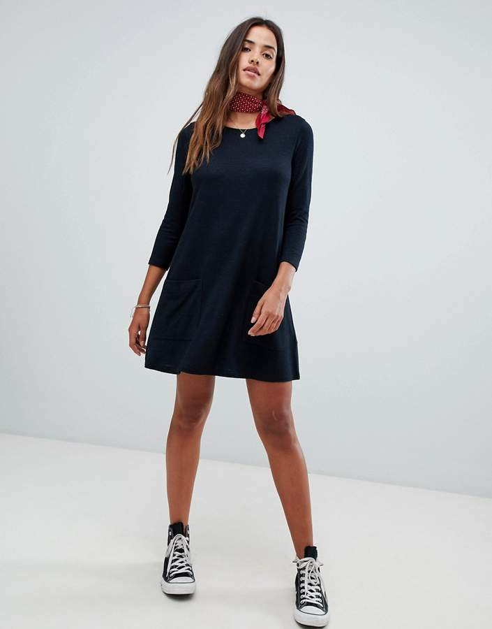 Abercrombie & Fitch cozy pocket front dress