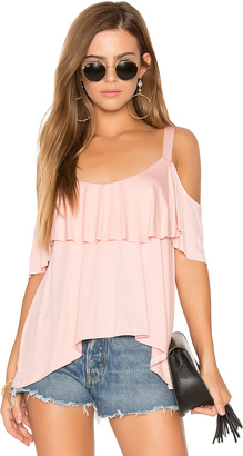 Ella Moss Bella Cold Shoulder Top $108 thestylecure.com