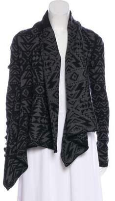 Patagonia Wool Intarsia Cardigan