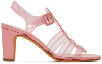 Maryam Nassir Zadeh Pink Paros Sandals