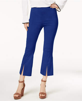 INC International Concepts I.n.c. Curvy-Fit Cropped Split-Hem Pants, Created for Macy's