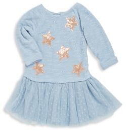 Little Girl's Sequin Star Dress $68 thestylecure.com