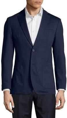 Karl Lagerfeld Paris Men's Textured Blazer Jacket