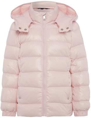 Polo Ralph Lauren Girls Small Pony Shiny Hooded Zip Up Coat