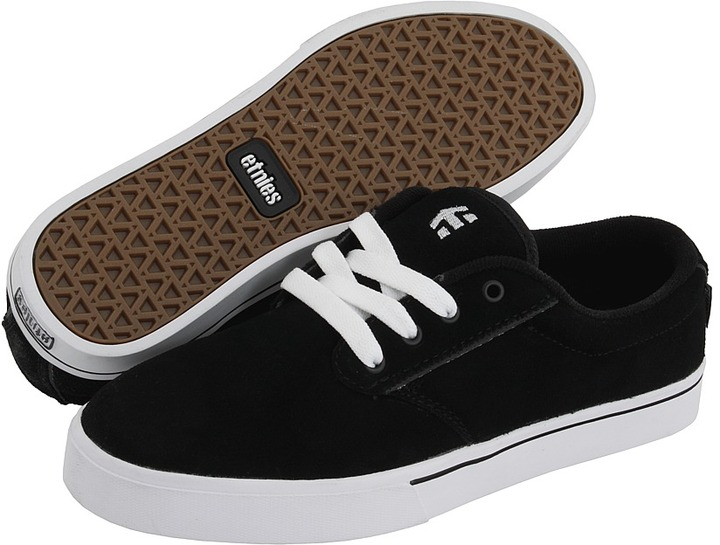 Etnies Jameson 2 (Black/White/Gum) - Footwear