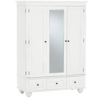 Pottery Barn Teen Chelsea Armoire, Simply White