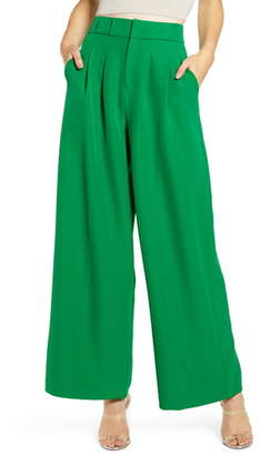 ENGLISH FACTORY Wide Leg Trousers